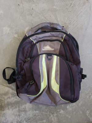 High Sierra light Green Men's backpack for Sale in La Mesa, CA