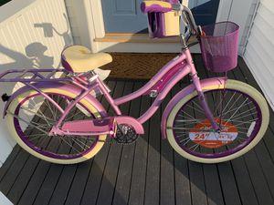 Huffy Nel Lusso 24 Inch Cruiser Bike - Lavender for Sale in Burlington, MA