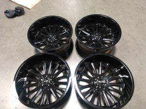 22x12 offset-44 5x139.7 used wheel used wheels for Sale in Chino, CA