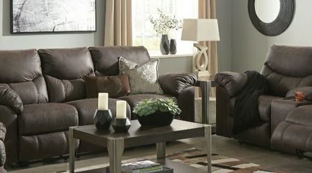 [SPECIAL] Boxberg Teak Power Reclining Living Room Set for Sale in Washington,  DC