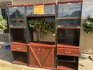 Entertainment center 3 shelf's for Sale in Stockton, CA