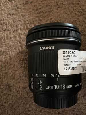 Cannon camera lens for Sale in Oakland, CA