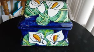 Ceramic box home decor for Sale in Fort Lauderdale, FL