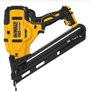DEWALT 20-Volt MAX XR Lithium-Ion Cordless 15-Gauge Angled Finish Nailer (TOOL-ONLY) for Sale in Las Vegas, NV