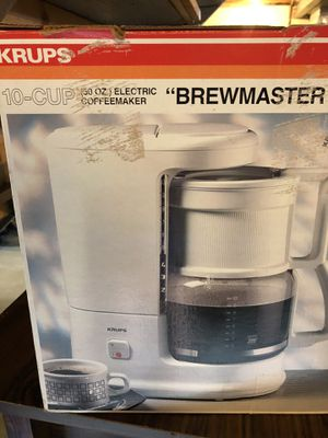 Krups 10 cup coffee maker for Sale in North Olmsted, OH