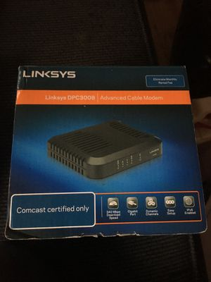 Linksys DPC3008 Comcast certified only for Sale in Fresno, CA