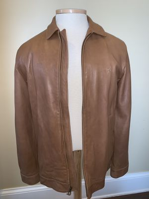 Ralph Lauren Lambskin Leather Jacket Large TALL for Sale in Milton, WV