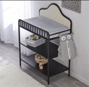 Little Seeds Piper Metal Changing Table, Black (Hot Summer Sale) for Sale in Houston, TX