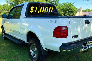 URGENT $1,000 I'm the first owner and i want to sell my 2002 Ford F-150 XLT for Sale in Mansfield, TX