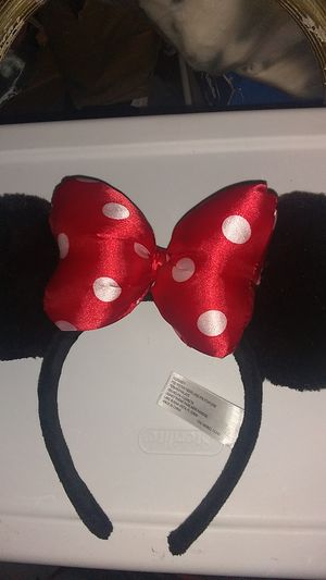 Disney Land Minnie Mouse Hat for Sale in Costa Mesa, CA