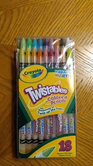 Crayola twistable colored pencils for Sale in Orland Hills, IL