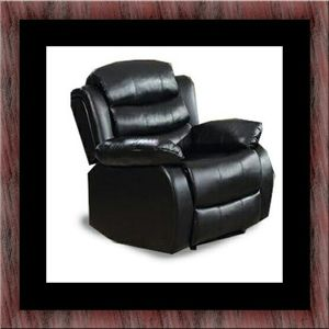Black recliner chair for Sale in Takoma Park, MD