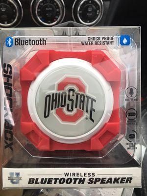 Bluetooth Shockbox Ohio State Speakers 🎵🎶 for Sale in Cleveland, OH