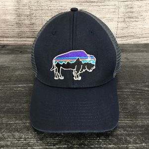 Navy Blue Patagonia Bison SnapBack Hat for Sale in Colorado Springs, CO