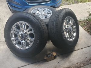 Dodge ram 2500/3500 factory wheels ( like new) for Sale in Pompano Beach, FL