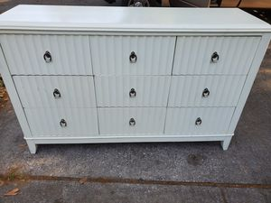 Solid Wood 9 Drawer Accent Dresser/Buffet/Media Console for Sale in Orlando, FL