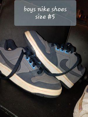 Nike shoes size #5 Boy's for Sale in Mesa, AZ