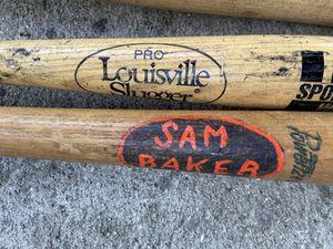 Wooden baseball bat for Sale in Cerritos, CA