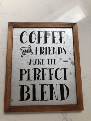 Coffee frame for Sale in Auburn, WA
