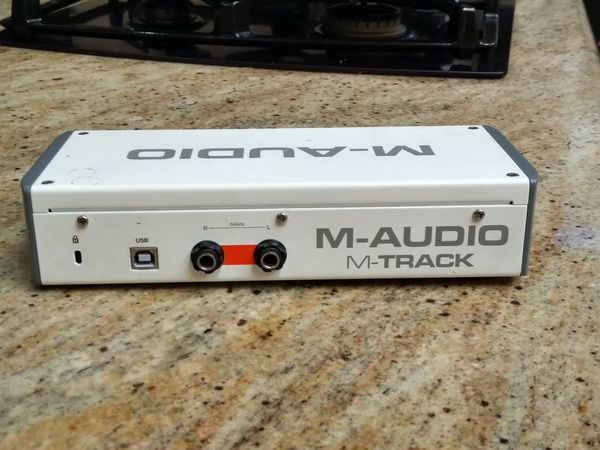 M-Audio M-Track 2 pro two channel interface