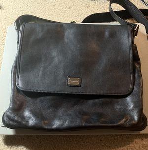Cole Haan Black Leather Messenger Bag for Sale in Atlanta, GA
