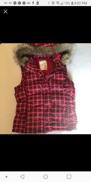 Red/ Black Aeropostle puff vest for Sale in Modesto, CA