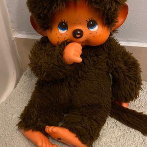 Sekiguchi! Monchhichi Girl Doll Stuffed Plush Toy w/ Vinyl Head for Sale in Miami, FL
