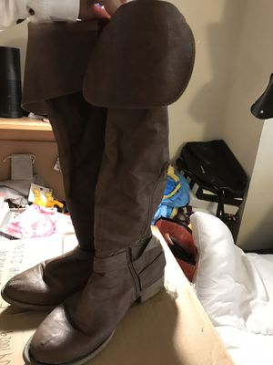 Brown Thigh High Boots for Sale in Fairfax, VA
