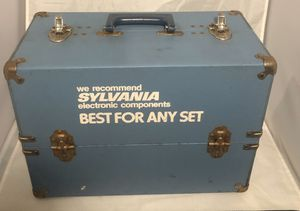 SYLVANIA ELECTRONIC TUBES- WITH BOX *UNTESTED & tools 🛠 for Sale in Fort Washington, MD