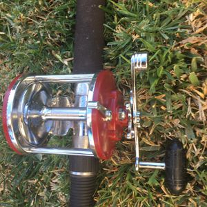 Sabre Rod And Penn Jig Master Fishing Pole for Sale in Rancho Cucamonga, CA