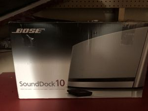 Bose Speaker sound-dock 10 for Sale in Sully Station, VA
