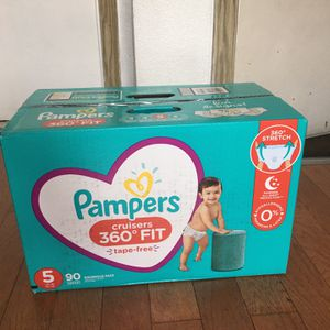 Pampers Cruisers SIZE 5 90 pañales for Sale in Compton, CA