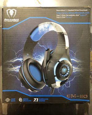 Beexcellent USB Gaming Headset With Mic GM-110 for Sale in Los Angeles, CA