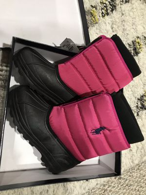New in box! POLO RL Ralph Women Fleece lined snow boot size 7 M $65 retail for Sale in Skokie, IL