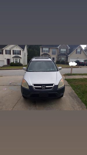 Need it gone today 2003 Honda CR-V for Sale in Union City, GA