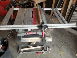 Craftsman table saw for Sale in Longmont, CO