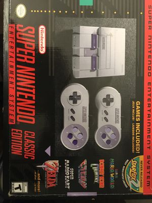 Super Nintendo Classic edition for Sale in Detroit, MI