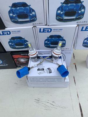 Nissan Frontier pk 00-15 new led headlights bulbs for Sale in Hayward, CA