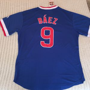 Baez Cubs baseball jersey brand new large & XL available $35 for Sale in Forest Park, IL