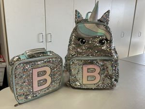 Backpack lunch pail (kids girl) school for Sale in La Mirada, CA