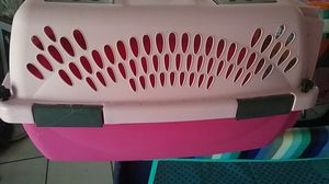 Pink dog crate for Sale in US