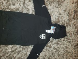 Los angeles kings addias hooded jacket climalite size small for Sale in Downey, CA