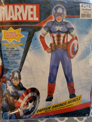 Captain America Muscle Kids Halloween Costume for Sale in Anaheim, CA