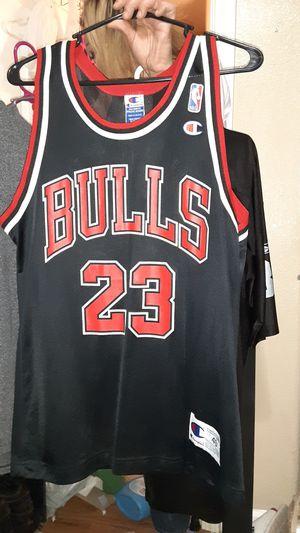 Champion Brand, Chicago Bulls Jersey - #23 Michael Jordan for Sale in Modesto, CA