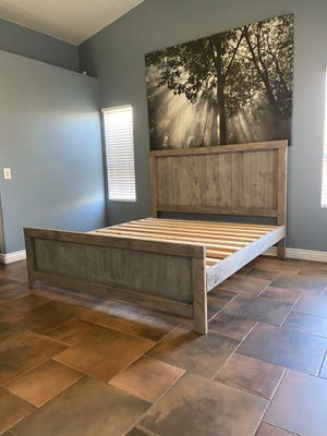 King bed frame for Sale in Chandler, AZ
