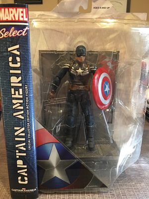 Marvel Select Stealth Captain America Disney Exclusive Figure for Sale in Arlington, TX