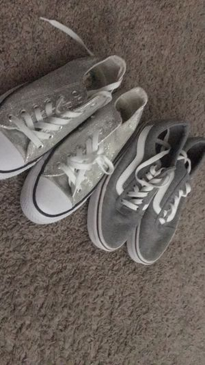 1 pair convers and 1 pair vans for Sale in Haines City, FL