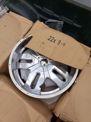 Rims 22 6 hollos for Sale in Hyattsville, MD