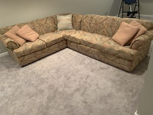 Sectional Couch With Sleeper Bed for Sale in Bowie, MD