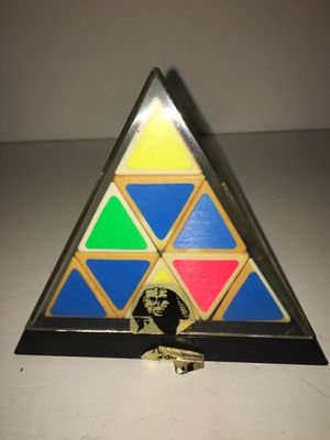Vintage Tommy Pyraminx magic cube puzzle game for Sale in Brooklyn, NY
